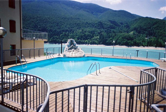 impermeabilizzazione di una piscina