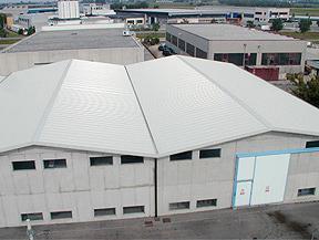 Tipi di coperture industriali